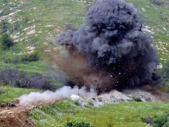 На освобождённых территориях Азербайджана мужчина подорвался на мине