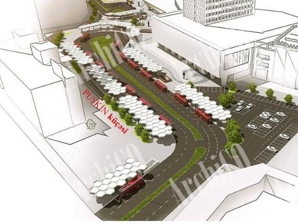 Новый облик привокзальной площади в Баку – ФОТО – ЭКСКЛЮЗИВ