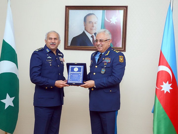 Обсуждены вопросы развития сотрудничества в сфере военной авиации между Азербайджаном и Пакистаном – ФОТО