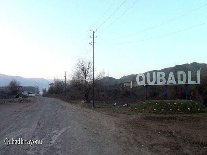 Qubadlı rayonundan görüntülər – FOTO – VİDEO