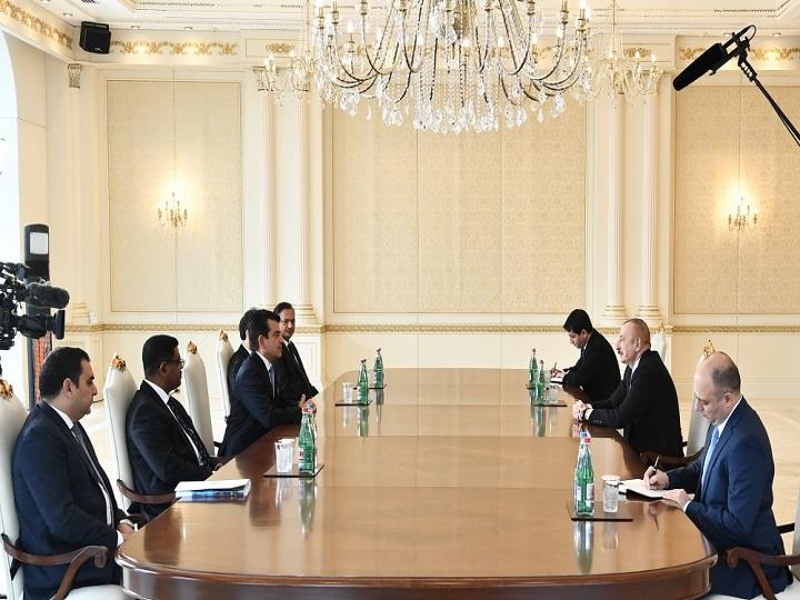 Prezident İlham Əliyev ICESCO-nun Baş direktorunu qəbul edib – FOTO – YENİLƏNİB