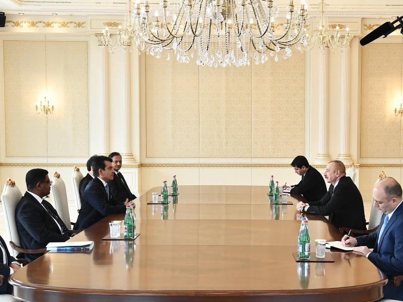 Ильхам Алиев: Разве иностранная компания, реставрировавшая мечеть в Шуше, не видела других разрушенных мечетей?