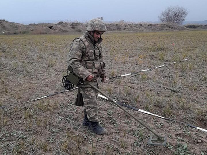 Спецтехника продолжает разминировать освобождённые территории Азербайджана - ФОТО – ВИДЕО