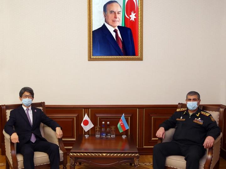 Посол Японии о развитии сотрудничества с Азербайджаном в военной сфере