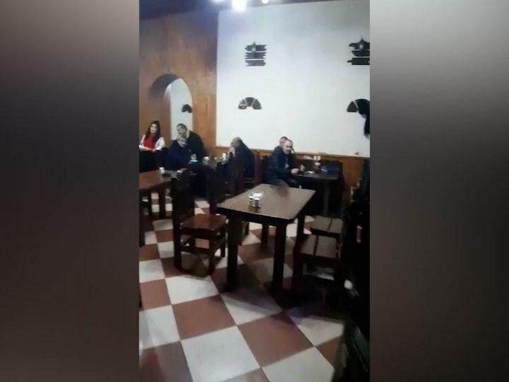 Bakıda gizli kafe aşkarlandı, 17 nəfər saxlanıldı - FOTO - VİDEO