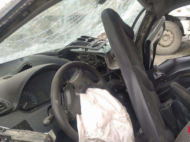 В Шуше произошло ДТП, 1 военнослужащий погиб, 2 получили травмы