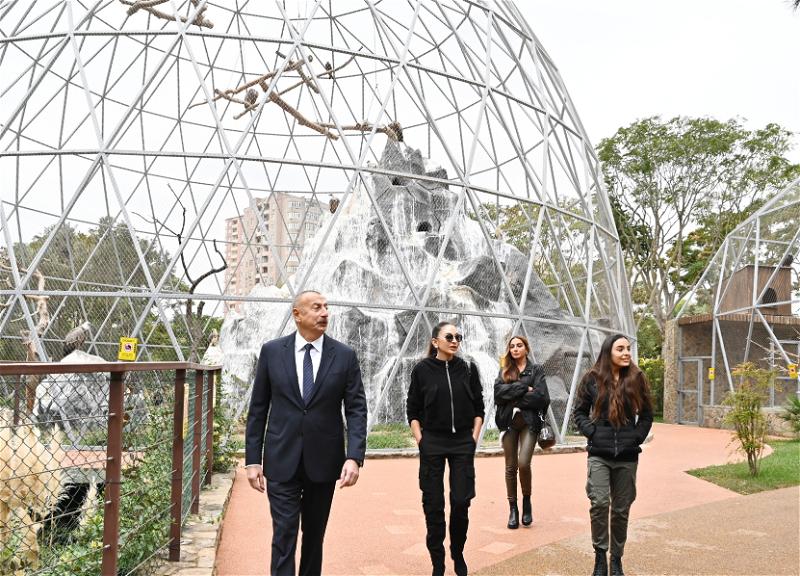 Состоялось открытие после реконструкции Бакинского зоопарка - ФОТО