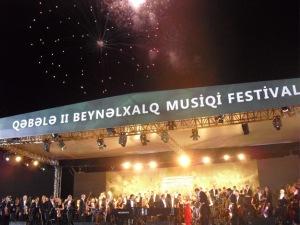 Габалинский музыкальный фестиваль – «англичане в шоке!» - ФОТО