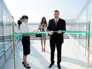 Президент Азербайджана принял участие в открытии Музея Государственного Флага - ФОТО