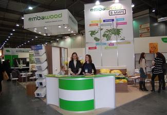 Компания Embawood удостоена первого места на выставке мебели в Украине