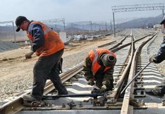 Продолжается строительство железной дороги между Ираном и Азербайджаном