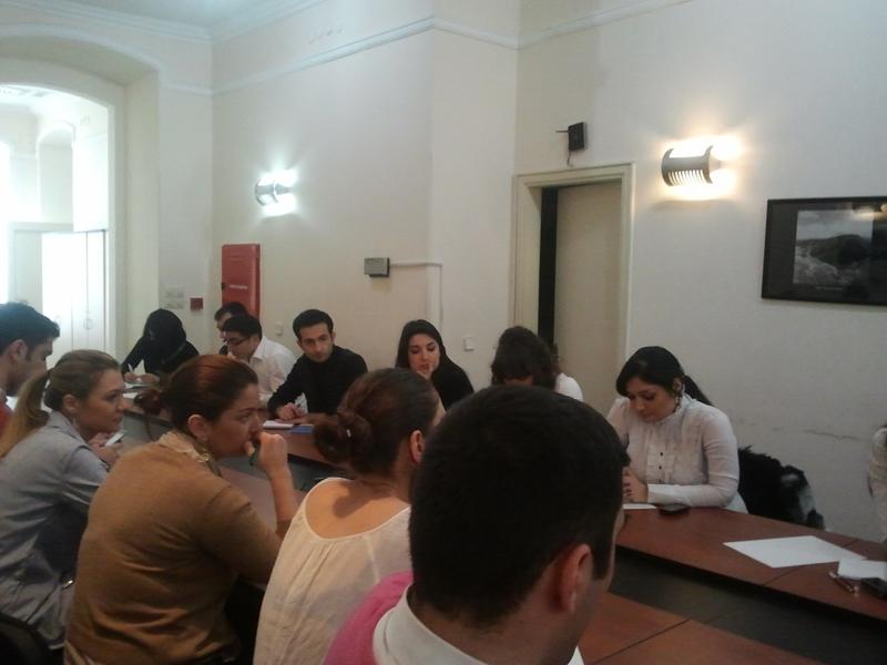 В офисе ASAİF обсудили Госпрограмму «Азербайджанская молодежь в 2011-2015 годах» - ФОТО
