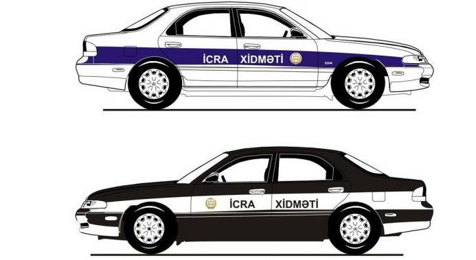 схема автомобилей судебных