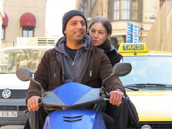 Араш в восторге от работы с Моникой Белуччи