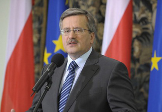 В ходе визита в Азербайджан президента Польши ожидается подписание ряда документов