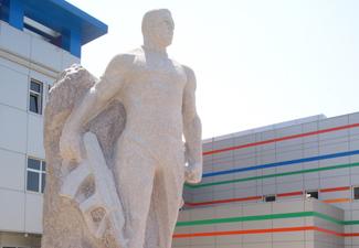 В Азербайджане открыт памятник Мубаризу Ибрагимову - ФОТО