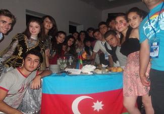 Участники международного лагеря встретились с послами России и Казахстана - ФОТО