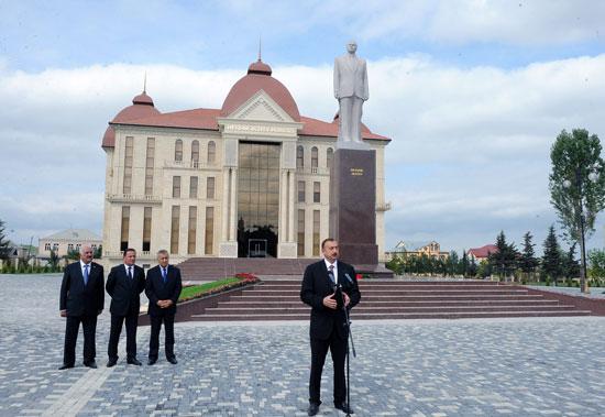 Ильхам Алиев: «Губа располагает очень большим туристическим потенциалом» - ФОТО - ДОПОЛНЕНО