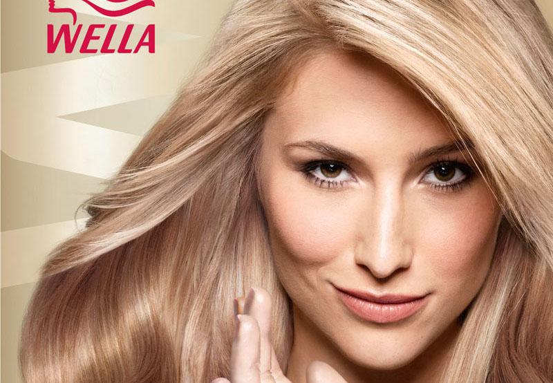 Окрашивание в блонд веллой