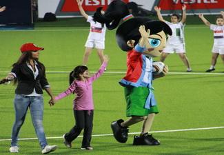 Состоялась презентация талисмана чемпионата мира по футболу-2012 - ФОТО