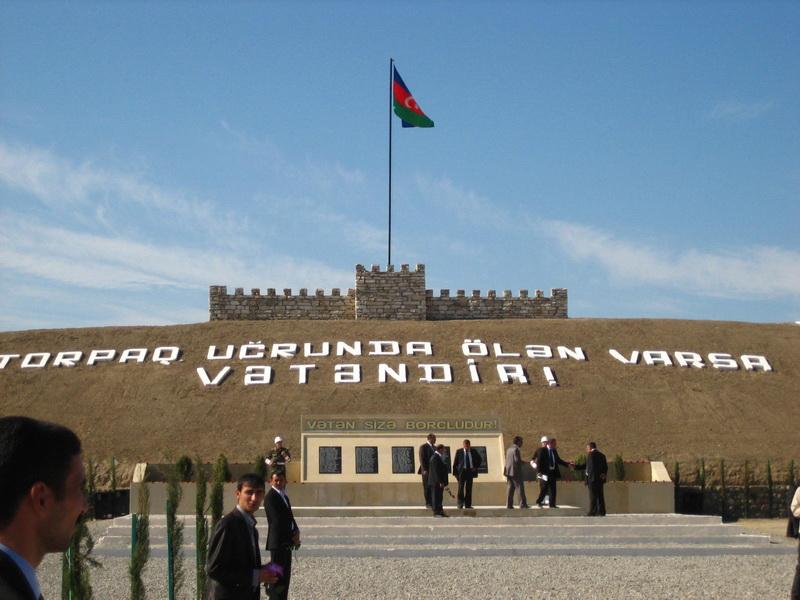 В Нагорном Карабахе открыта Площадь Государственного Флага Азербайджана