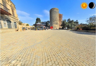 Запущен сайт виртуальных прогулок по Баку в формате 3D