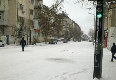 Заснеженный Баку vs. Столичные власти: когда слова расходятся с делом - ФОТО