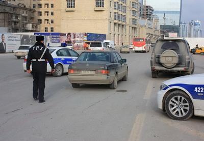Дорожная полиция провела рейды против водителей, нарушающих ПДД - ФОТО