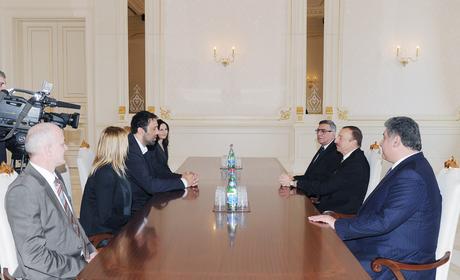 Президенту Ильхаму Алиеву вручена международная награда «Достойный друг Балкан»