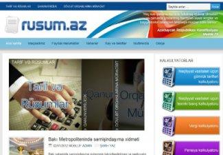 Вышла обновленная версия интернет-портала Rusum.az