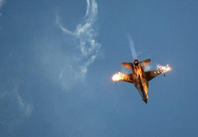 Сирийские ПВО сбили турецкий самолет над Средиземным морем