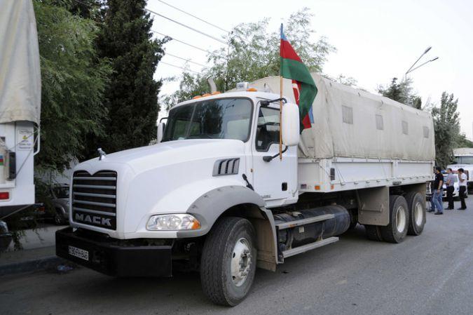 Азербайджан направил гуманитарную помощь пострадавшим от землетрясения в Иране