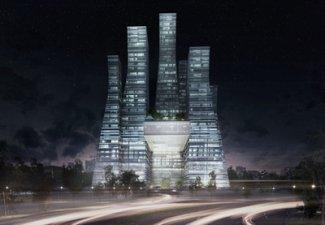 Разработан новый грандиозный архитектурный проект в центре Баку