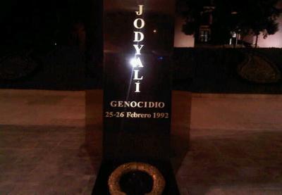 В Мехико возведен памятник жертвам Ходжалы - ФОТО