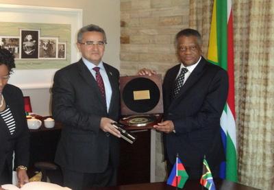 Посол Азербайджана в ЮАР обсудил вопросы сотрудничества парламентов двух стран - ФОТО