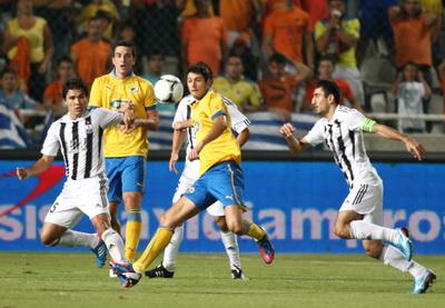 «Нефтчи» стал первым азербайджанским футбольным клубом, вышедшим в групповой этап еврокубков - ФОТО