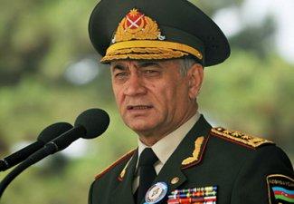Министр Рамиль Усубов провел смотр в Полку быстрого реагирования
