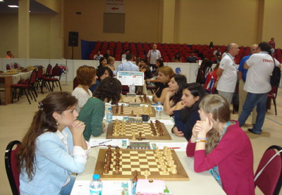 4-й тур шахматной Олимпиады: Азербайджан и Армения сражаются в Стамбуле - ФОТО