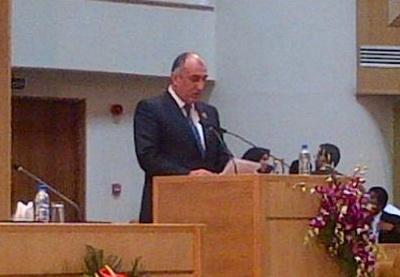 Глава азербайджанского МИД выступил на саммите в Тегеране