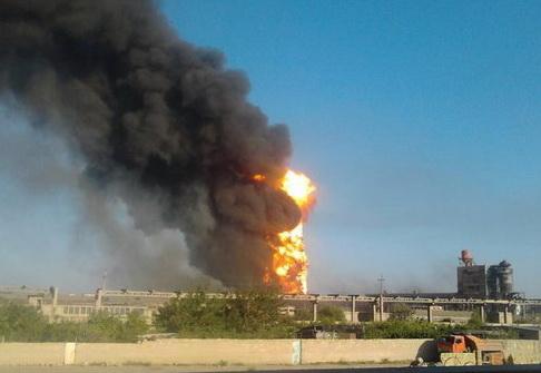Пожар в Сумгайыте полностью потушен – ФОТО – ВИДЕО - ОБНОВЛЕНО