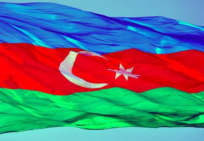 Флаг Азербайджана в сердце каждого  азербайджанца!