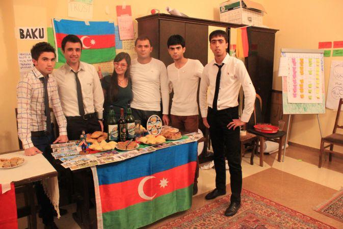 Приняла участие в межкультурной программе по обмену - ФОТО…