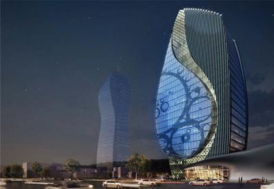 Новое административное здание «Азерсу» будет построено в форме капли - ФОТО