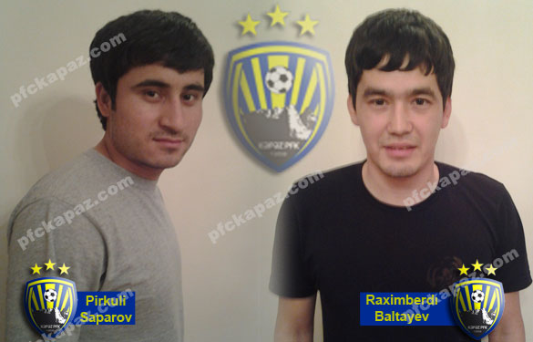 ФК «Кяпяз» усилился двумя игроками из Туркменистана