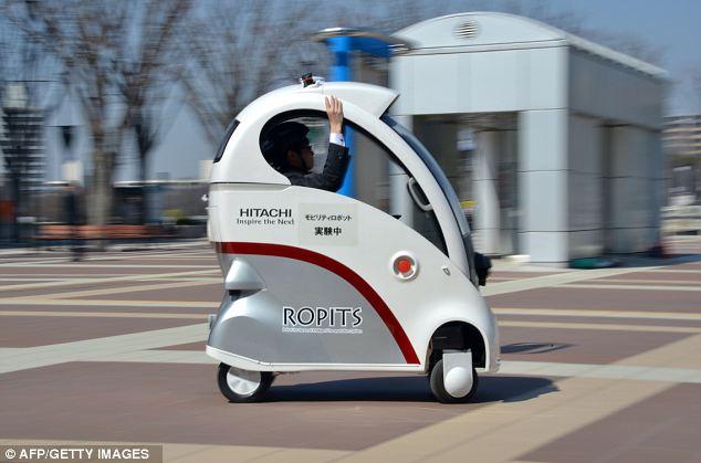Представлен самый маленький беспилотный автомобиль в мире – ФОТО