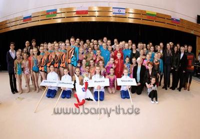 Азербайджанские гимнастки стали лучшими на Кубке Балтики