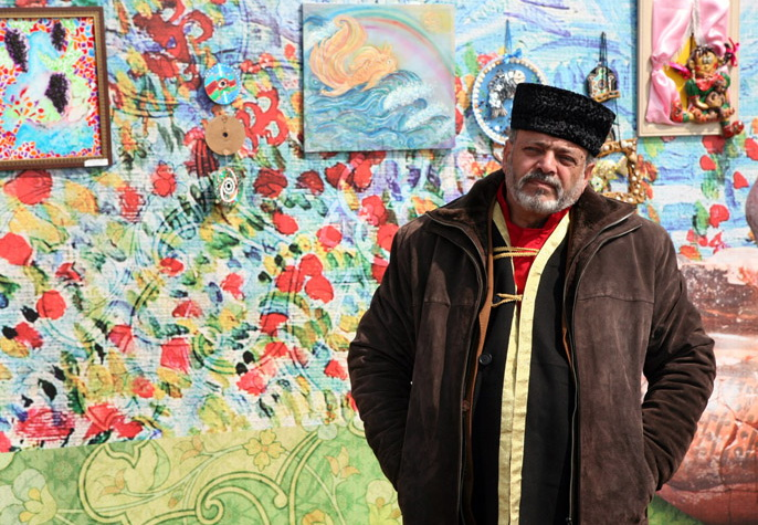 Слава Сапунов о прекрасном Новрузе и «городе-без-улыбок» - ФОТО