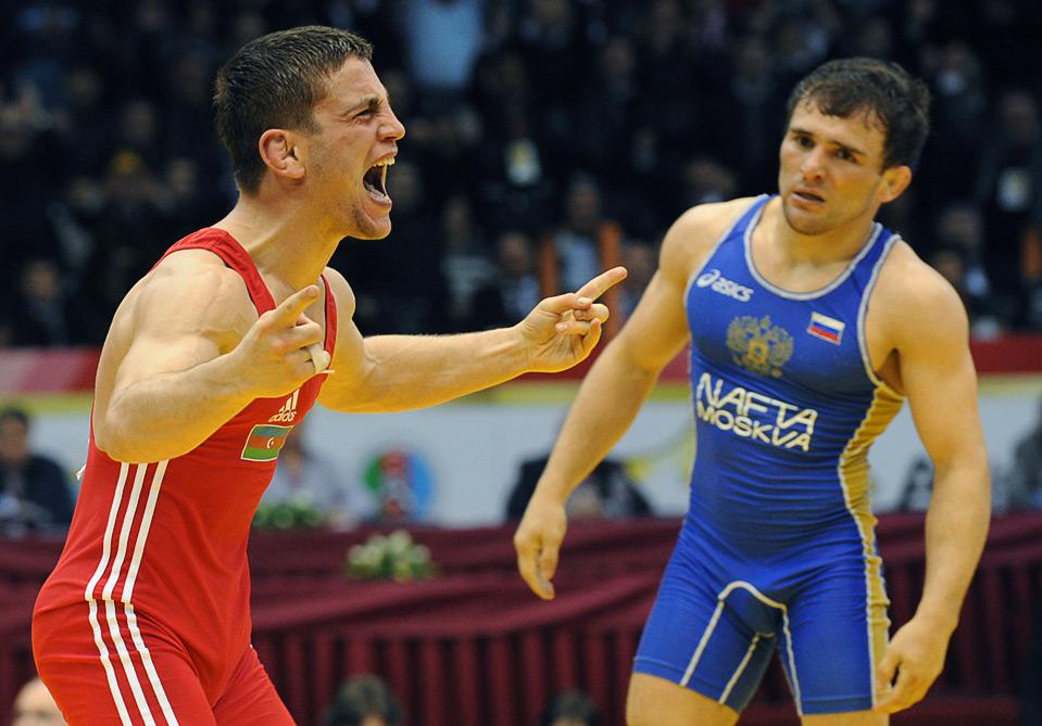 Азербайджанские борцы в первой тройке мирового рейтинга ФИЛА