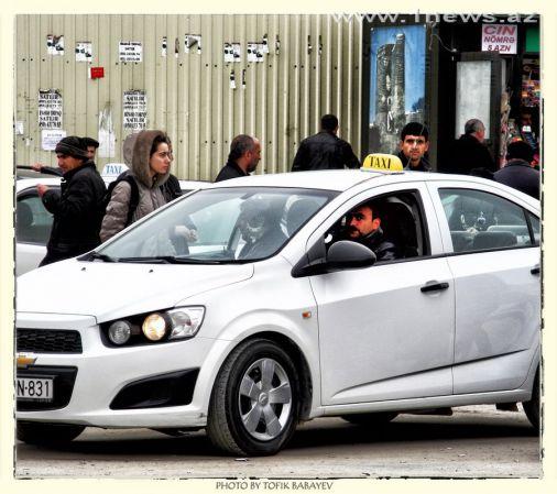 Бакинские такси