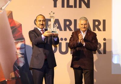В Стамбуле состоялась церемония вручения награды «Государственный деятель десятилетия» - ФОТО